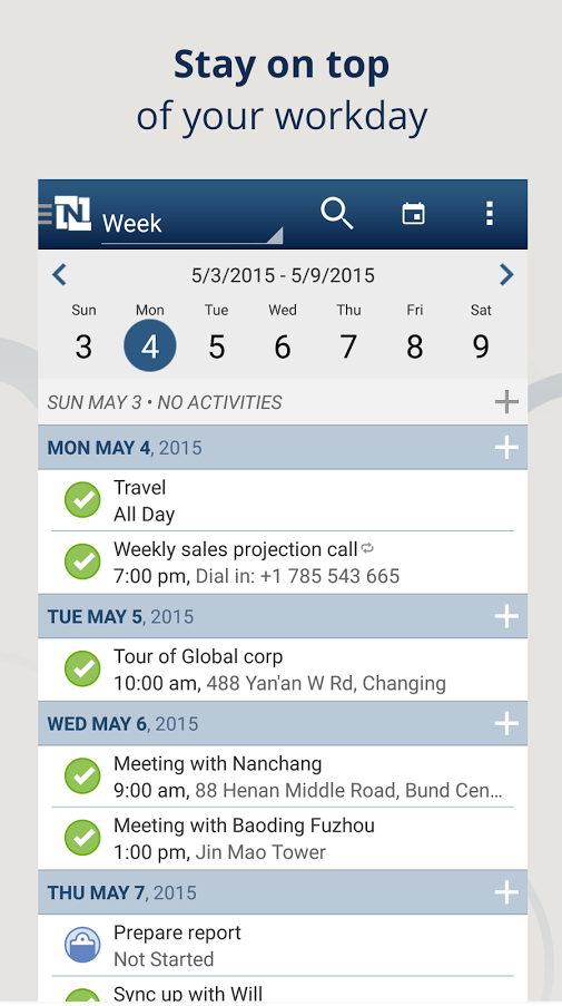 NetSuite_for_Android_calendar_access