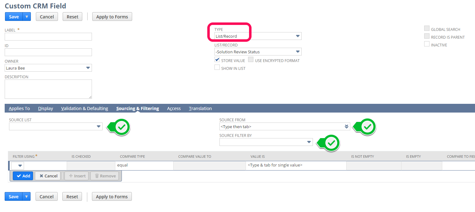NetSuite Tips - Using The Advanced Features Of Custom Fields - NoBlue