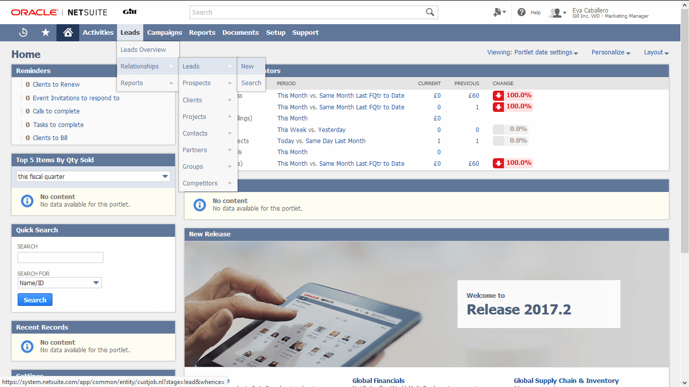 Manage & Customise Leads With Oracle NetSuite CRM   NoBlue