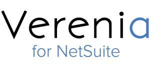 Verenia for NetSuite logo, presented with no background.