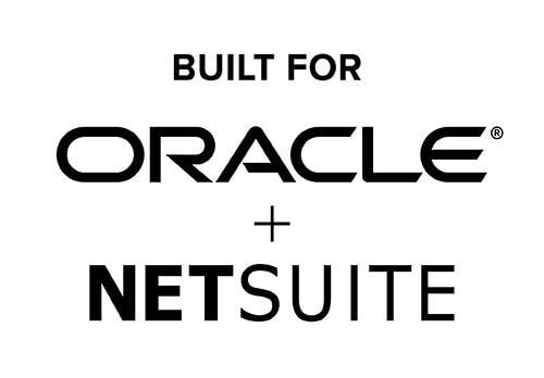 Logo which says that product has been built for Oracle & NetSuite