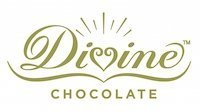 A small Divine Chocolate logo presented on the white background.