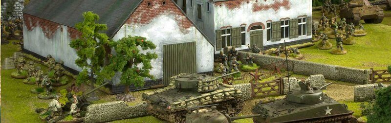 An image presenting the tank game created by Warlord Games.